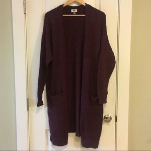 Old Navy Super Long Open Front Cardigan XL